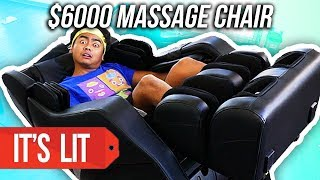 $1 Massage Vs $6000 Massage Chair!