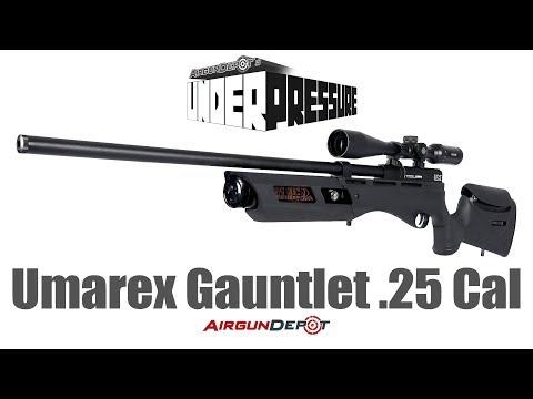 Umarex Gauntlet 25 caliber trigger adjustment - смотреть