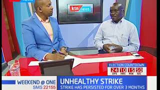 Weekend at One: Unhealthy strike as the nurses' strike persists for more than 3 months