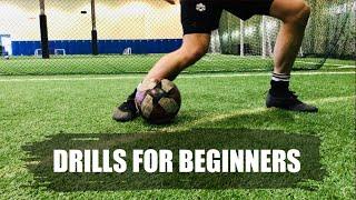 Soccer Drills For Beginners | The Best Football Training Drills For Beginners (Develop Basic Skills)