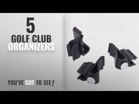 Top 10 Golf Club Organizers [2018]: 3Pcs Golf Bag Clip-On Putter Holder Golf Organizer Putter Clip