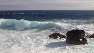 preview picture of video 'High Surf Advisory - March 2-4, 2009 - East Side Big Island Hawaii'