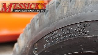 Tractor tire inflation tips