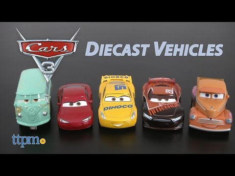 Cars 3 Tim Treadless, Smokey, Dinoco Cruz Ramirez, Natalie Certain &Fillmore Diecast from Mattel