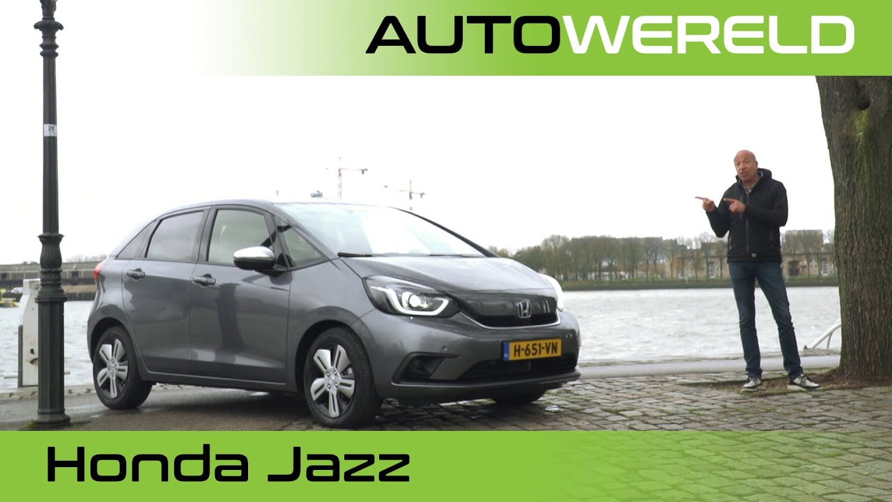 Honda Jazz Hybrid (2021) review met Tom Coronel