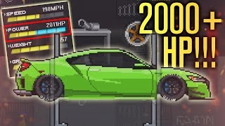2000+ HORSEPOWER HONDA/ACURA NSX?! | Pixel Car Racer