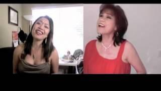 DOES HE LOVE YOU - Reba McEntire & Linda Davis (Cover) - Danalin & Diane de Mesa