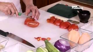 Tu cocina - Salmón en costra de pistache