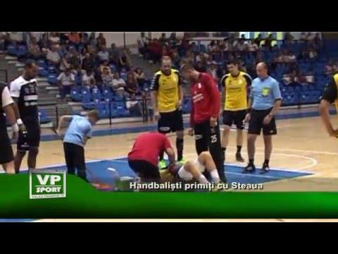 Handbalisti primiti cu Steaua