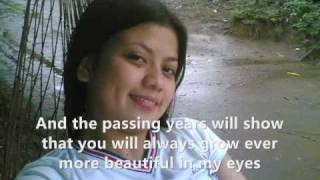 Beautiful in my eyes - Christian Bautista (lyrics)