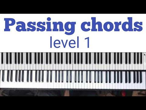 Beginners passing in c major