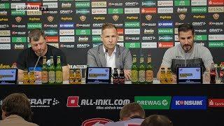34. Spieltag | SGD - SCP | Pressekonferenz nach dem Spiel
