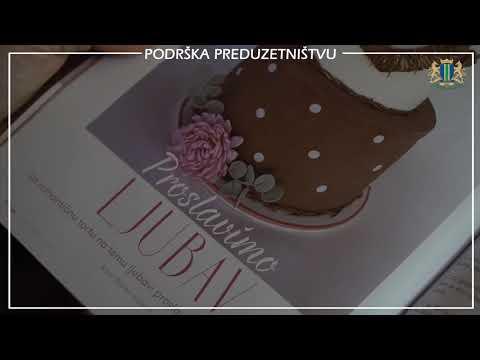 Branka Vukčević iz Bara pokrenula projekat jedinstven u regionu - Specijalizovani časopis zaljubljenicima u slatkiše otkriva tajne dekoracije (VIDEO)