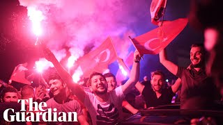 Istanbul erupts into celebration after landmark victory for opposition party