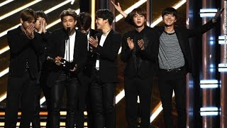 K-Pop Group BTS STEALS The Show At The Billboard Awards With Their Speech To Their Fans