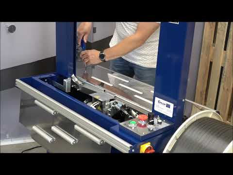 Ampag Boxer II: Cleaning the machine