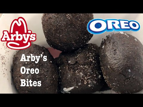 ARBY'S OREO BITES DESSERT FOOD REVIEW NUTRITION FACTS