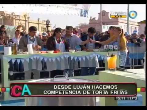 Torta fritas en Luján
