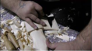 Безумный нож топорик или как сделать топор своими руками )))