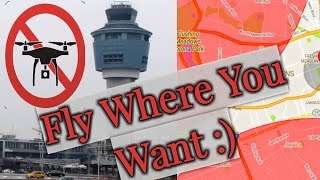 How to Fly Your Drone around Airports as a Hobbyists