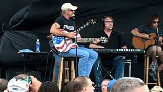 Aaron Tippin WHERE THE STARS & STRIPES AND EAGLES FLY  Live 5/31/12 Hugefest Cape Coral Florida