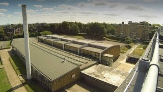 preview picture of video 'Elliott School 2013 before restoration starts Part 3 Around the Building'