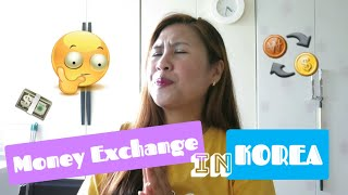 Where is the best place to exchange money in Korea for travelers 💸💵💱