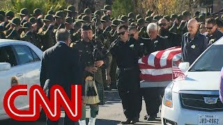 Funeral for Border Patrol agent