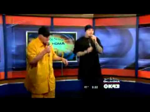 my 2nd interview on the Rise&Shine oklahoma morning show