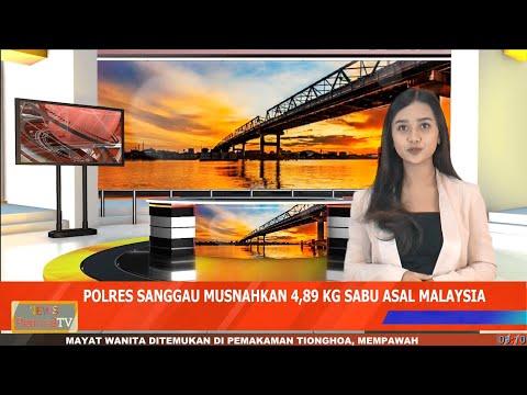 Polres Sanggau Musnahkan 4,89 Kilogram Sabu Asal Malaysia