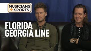 Musicians + Sports: Florida Georgia Line