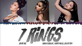 Ariana Grande   7 Rings Feat. Nicki Minaj & JENNIE (Color Coded Lyrics)