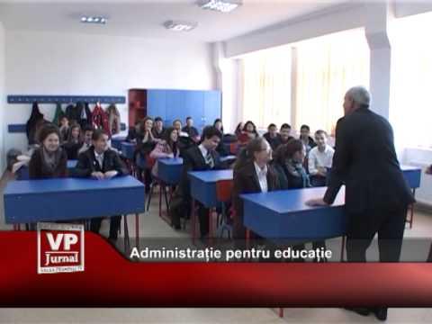 Administrație pentru educație
