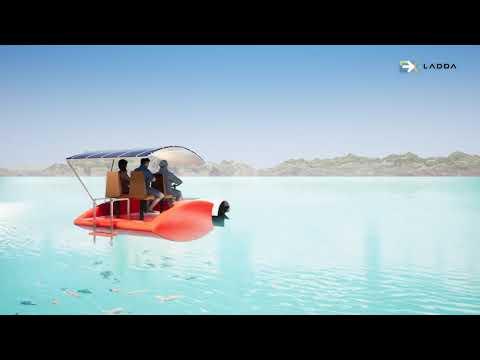 เรือปั่นสำหรับการท่องเทียวชายทะเล funny sea boa