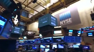 Avon and Natura & Co first day of trading at the New York Stock Exchange
