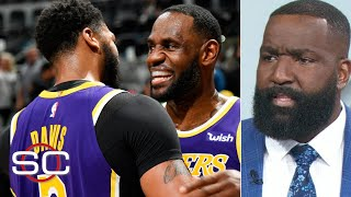 Kendrick Perkins: We haven't seen a duo like LeBron-AD since Kobe and Shaq | SportsCenter