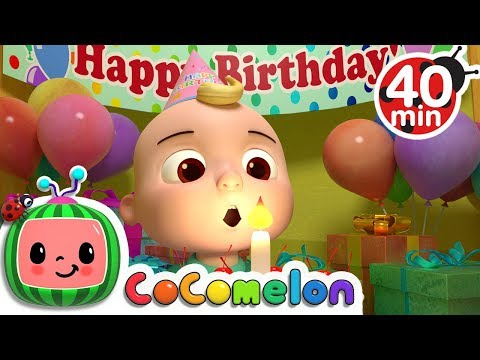Download Happy Birthday Song | +More Nursery Rhymes & Kids Songs - CoCoMelon HD Mp4 3GP Video and MP3