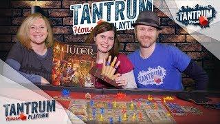 Playthru of Tudor the Board Game