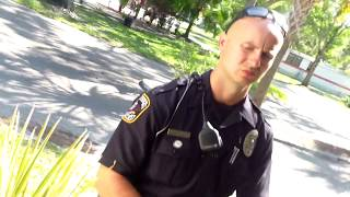 Road rage. (police video) Forrest Gump shows up at my HOME !