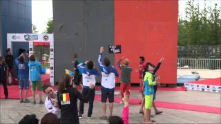 preview picture of video 'Inside : Gautier Supper's Worldcup Climbing Haiyang 2014'