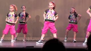 Girls on The Dance Floor - Hip Hop Recital 2012