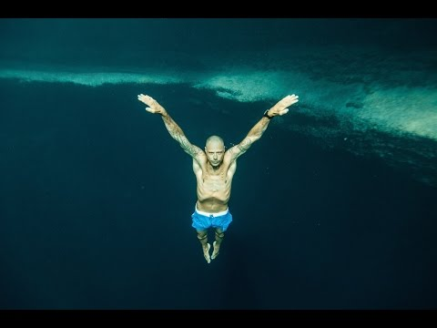 Stig Pryds -deepest P.O.V. freedive in Dean's Blue Hole