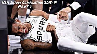 NBA Injury Compilation 2018-19 Part 1
