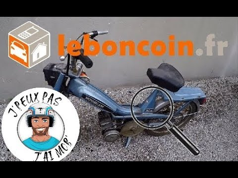 Mobylette - je l'achète sur Leboncoin