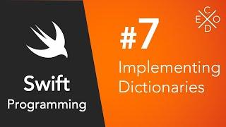 Swift 4 Programming #7 - Dictionaries