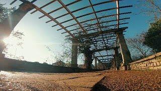 Waterloo park, drone, GoPro, FPV, art, freestyle