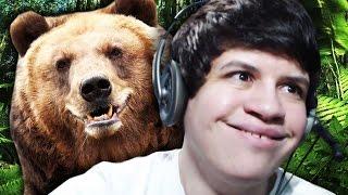 VIREI UM URSO PELUDO! - Bear Simulator