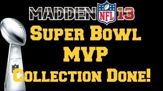 MUT 13 | Super Bowl MVP Collection DONE!