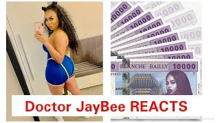 Blanche Bailly   Argent [ Official Video] REACTION| Doctor JayBee Vlogs