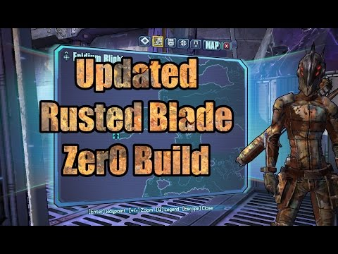 Borderlands 2: Melee Zer0 Build (w/ Download) - смотреть